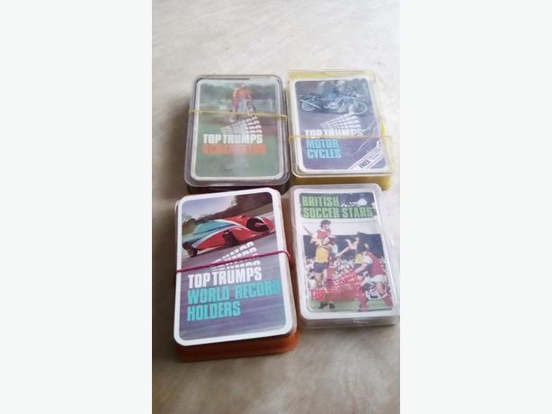 Top trumps cards