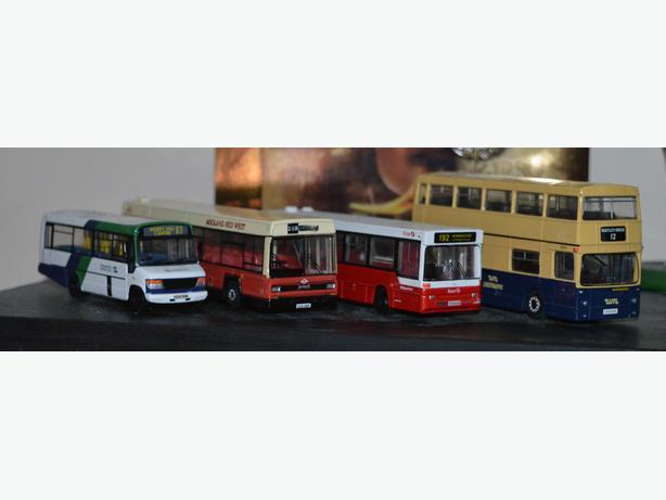 West Midlands Bus Models
