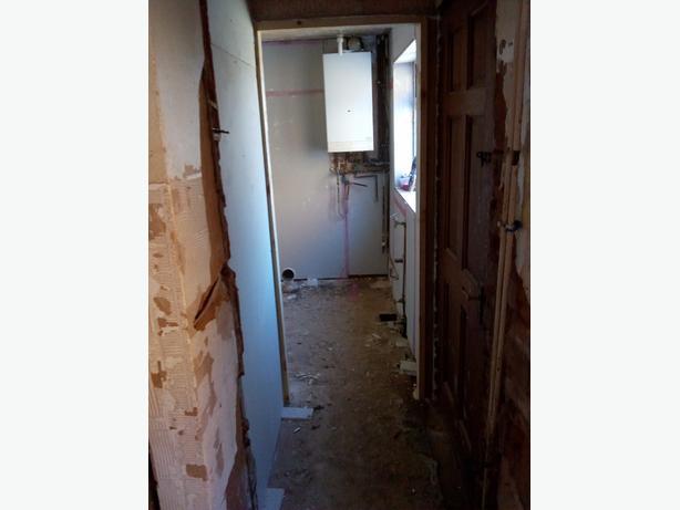 per day plastering
