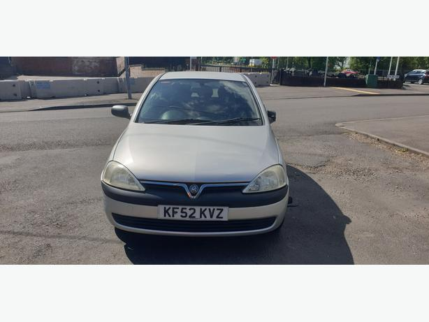 VAUXHALL CORSA CLUB 1.0 PETROL 5 SPEED MANUAL 2002 SILVER