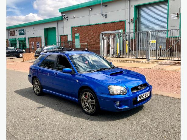 2006 (55) SUBARU IMPREZA 2.0 WRX TURBO WAGON 266 BHP WITH DYNO