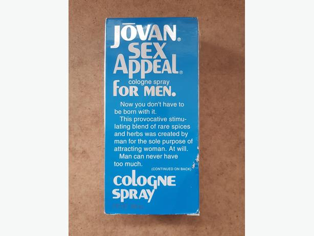 Jovan Sex Appeal men's cologne spray 88 ml