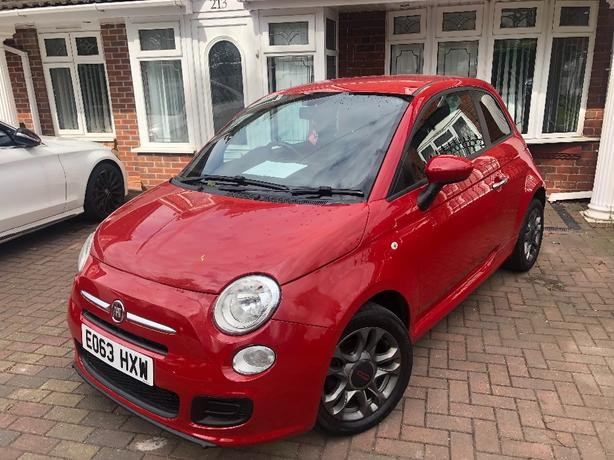 2013 Fiat 500 1.2 S (s/s) Low Miles FSH Long MOT £30 Tax (up polo ka)