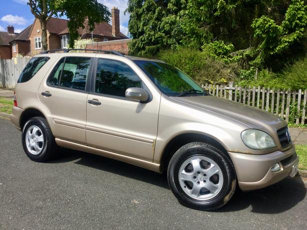 Mercedes ML270 CDi Auto with PSH & FULL MOT !