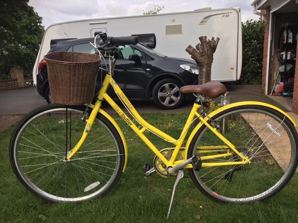 "ladies cycle ""Claude Butler"" Cambridge"