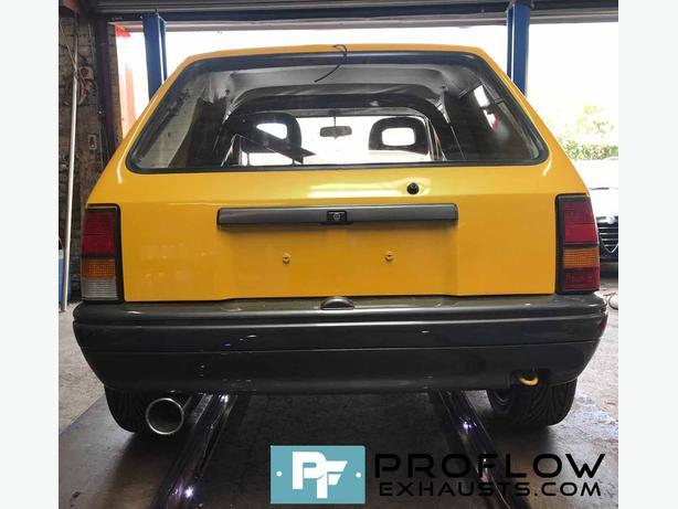 """Vauxhall Nova full 3"""" Stainless Steel Custom Exhaust System"""