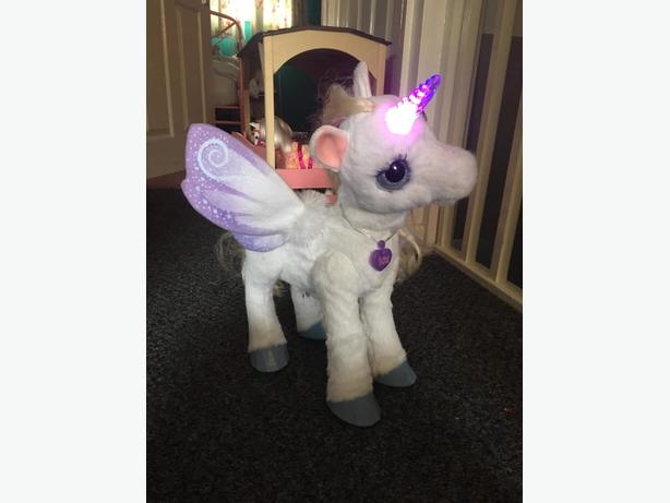 FUR-REAL FRIENDS ELECTRONIC PET STARLILY MY MAGICAL UNICORN