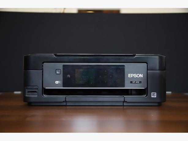 Epson XP-412 All-In-One Inkjet Printer Scanner Copier WiFi