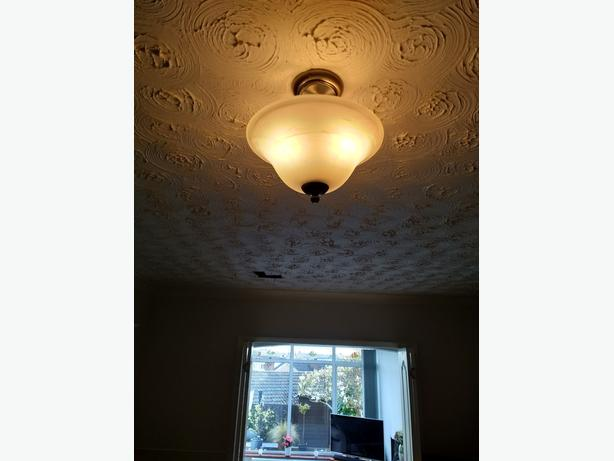 WALL LIGHTS, STANDARD LAMP AND CEILING LIGHT