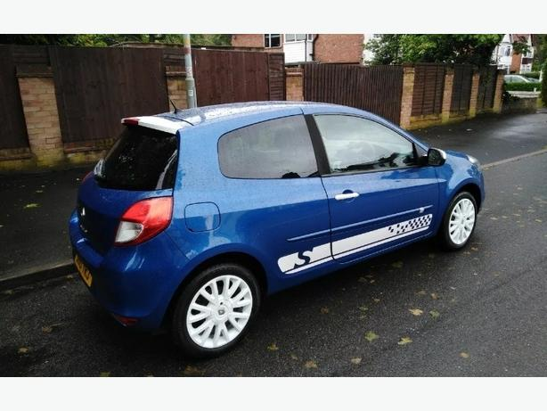 renault clio 2010 special edition 1.2 16v only 70500 miles