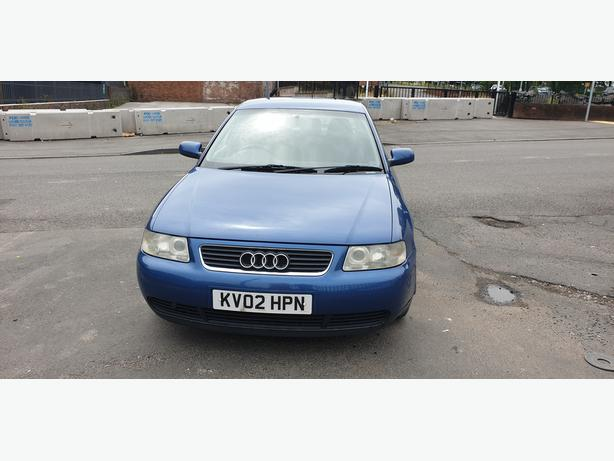 AUDI A3 TDI SE 1.9 DIESEL 5 SPEED MANUAL 2002 BLUE MOT'D