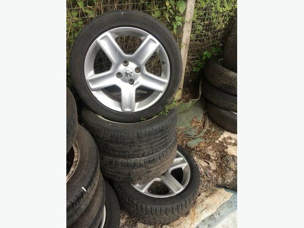 Peugeot 307 4x Alloy Wheels 205/50/17
