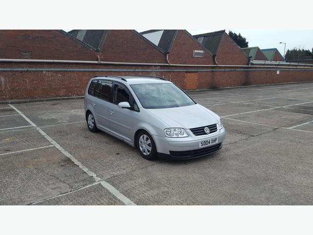 Volkswagen Touran 2,0 TDI 6 speed, diesel, 7 seater, long mot, drives great