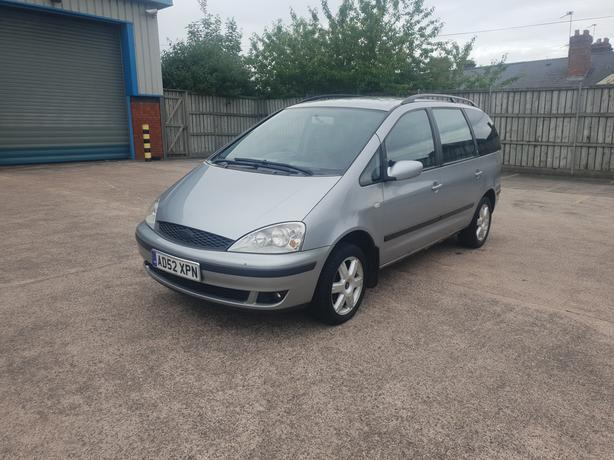 Automatic Galaxy 1.9 TDi Diesel, 2003, 7 seater, long mot good drive