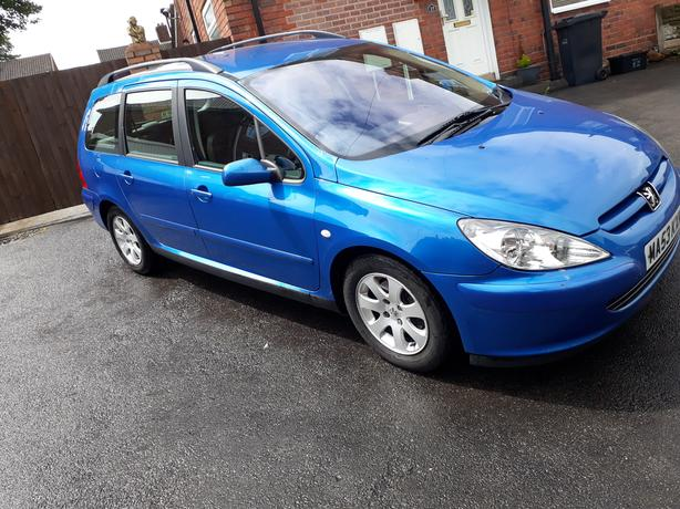 Peugeot 307 sw estate, diesel, Blue