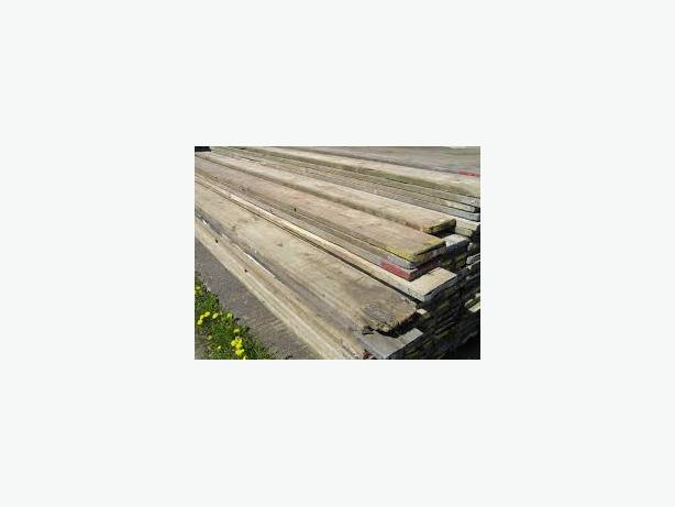 50 used scaffold boards 13ft