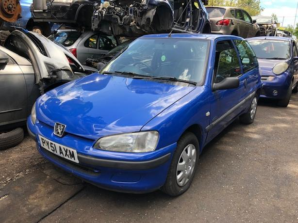 peugeot 106 2001 1.1 petrol blue - Breaking