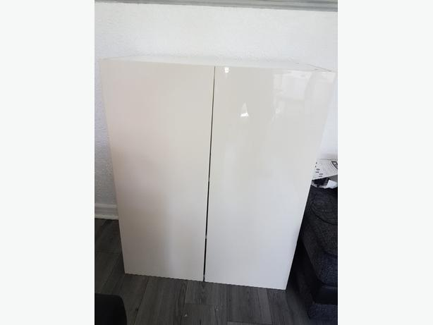 Ikea Metod wall cabinet with shelves/2 doors.