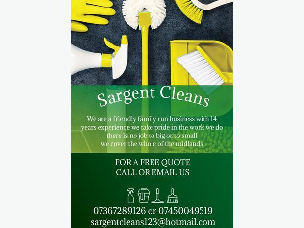 Sargent cleans