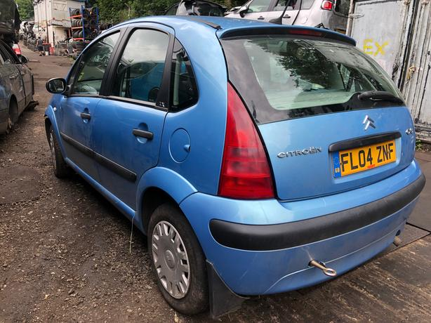 Citroen C3 lx 2004 1.4 petrol blue - breaking