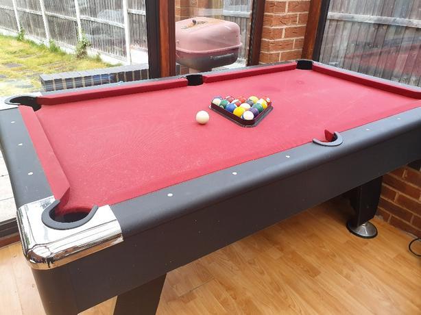 6×3 feet pool table