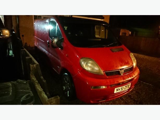 Vauxhall vivaro 1.9 van