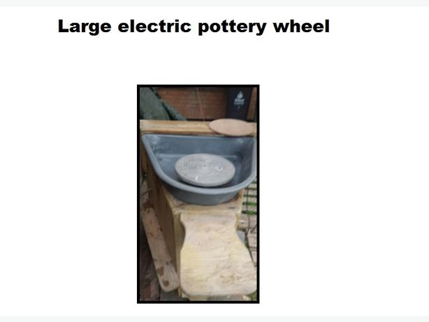 Electric pottery wheel