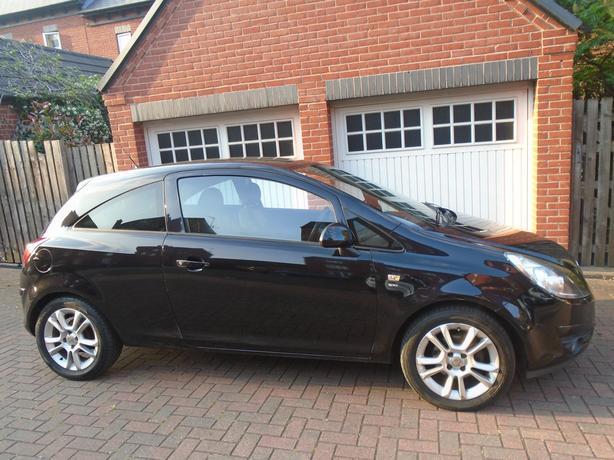 Vauxhall Corsa 1.2 i 16v SXi 3dr black