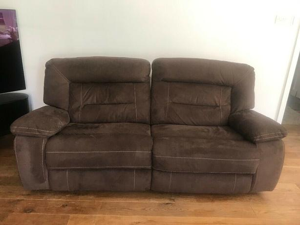 Groovy Log In Needed 200 Brown Two Piece Reclining Sofa Set Dailytribune Chair Design For Home Dailytribuneorg