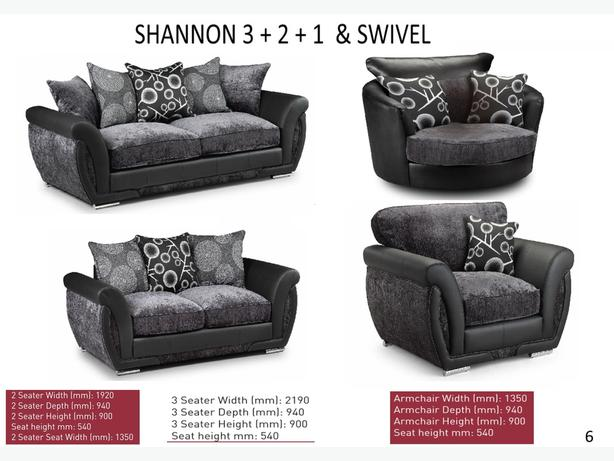 Large range of suites in store to view at Capricorn Interiors