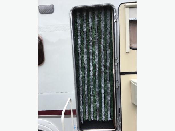 caravan door curtain