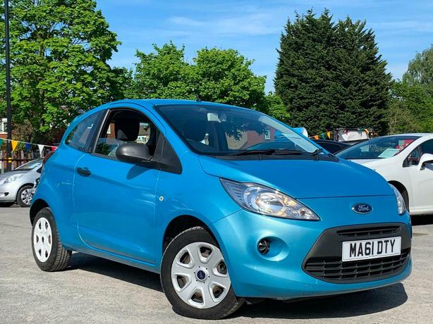 2011 FORD KA 1.2 STUDIO, WOW ONLY 17K GENUINE MILES + 1 LADY OWNER FROM NEW !!!