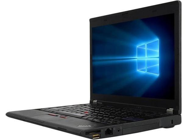 Lenovo Thinkpad X Series Fast Intel i7 6GB Ram Ultra Slim Gaming Laptop SSD