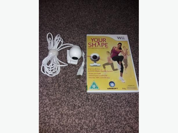 Ubisoft Your Shape with Camera (Wii)