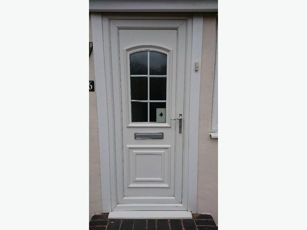 Used upvc front door