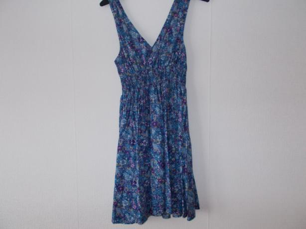 Ladies blue size 10 dress