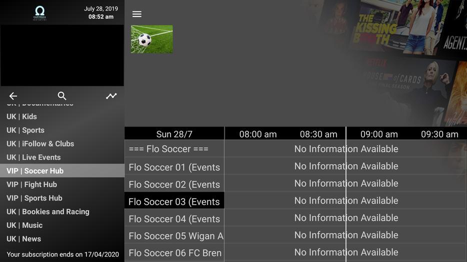 £45 · IPTV / Movies on Demand / Firestick / Android / iOS (6 mths)