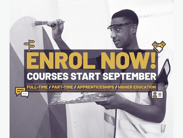 Enrol at WolvColl!