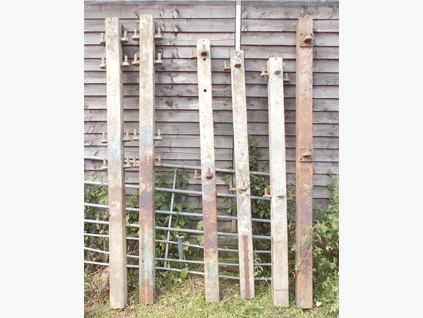 Gate or Feed Barrier Posts