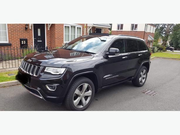 jeep grand cherokee overland 3.0disel4x4