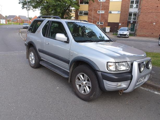 vauxhall frontera 2.2 dti rs