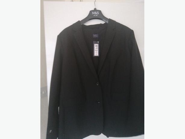 M&S Ladies Jacket 20 black 22 black £20each