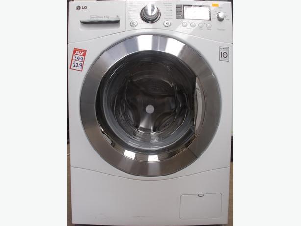 LG F1443KD Washing Machine. 11kg Load. 1400 Spin. White. (38J
