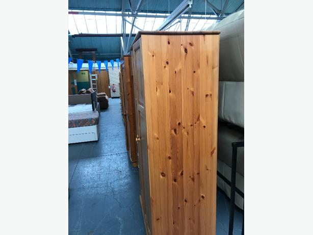 light wood wardrobe