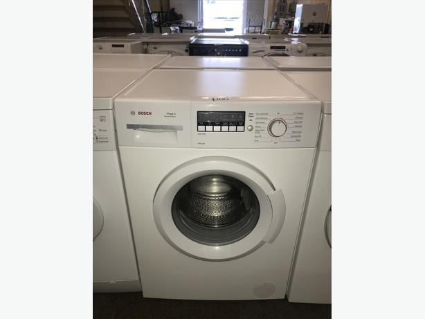 BOSCH 6KG WASHING MACHINE WITH LARGE LCD