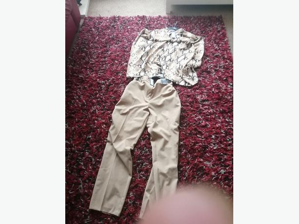 Ladies M&S shirt size 20 trousers size 22
