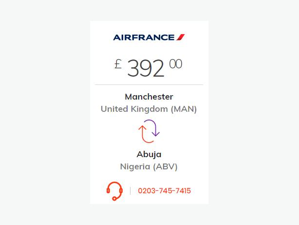Flights to Nigeria From United Kingdom by Travel 2 World
