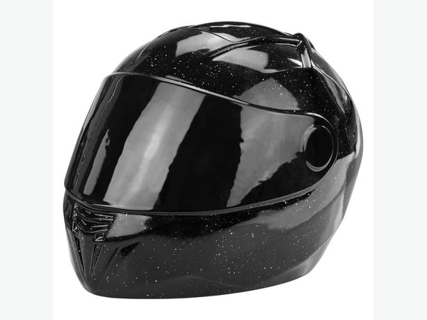 Motorcycle Helmet Adult Cremation Urn for Ashes Fitting tribute to any biker