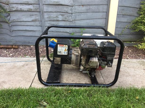 honda generator gx160. 5.5