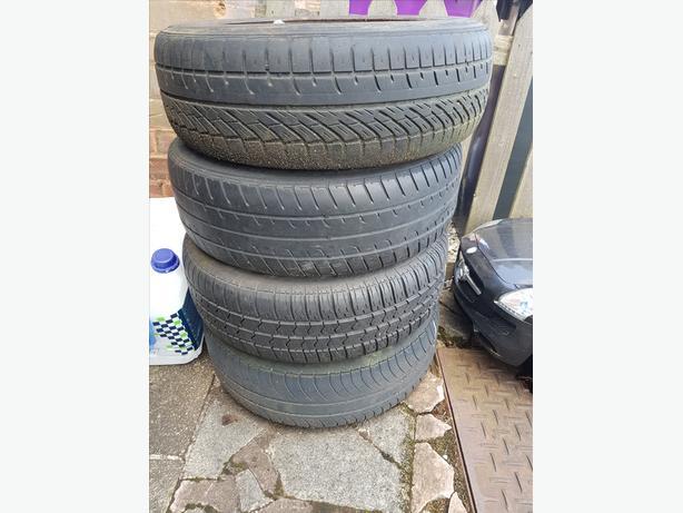 Mercedes Benz C-class 4 Tyres 185/65/15